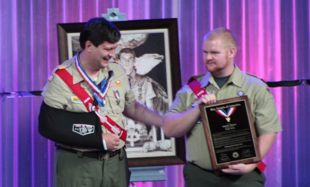 Distinguished Eagle Scout Todd Plotner