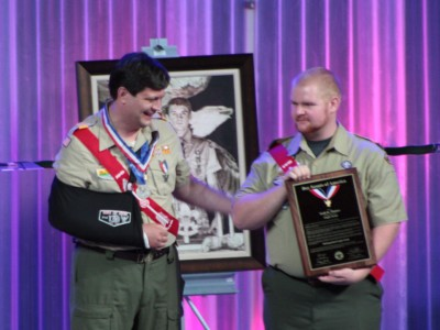 Distinguished Eagle Scout Todd Plotner