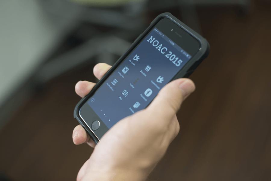 NOAC 2015 app